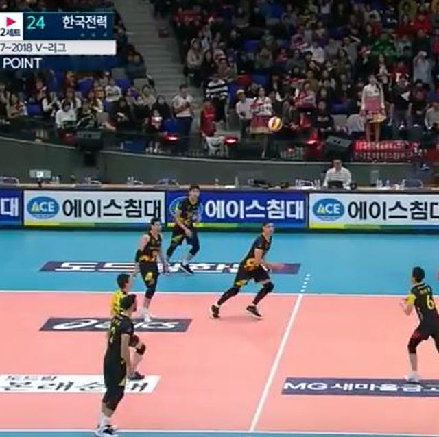 [17-18시즌] 2월 17일 vs 한국전력 하이라이트 영상