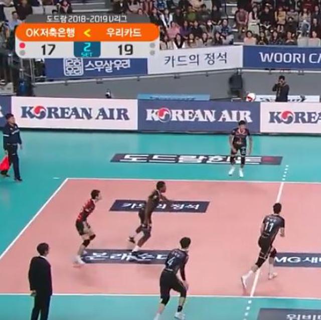 [18-19시즌] 10월 18일 vs 우리카드 하이라이트 영상