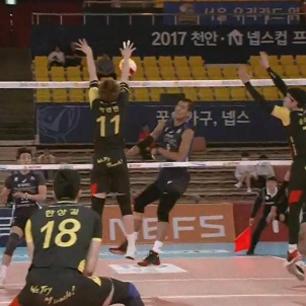 [2017 천안·넵스컵] 9월 18일 vs 우리카드 풀영상